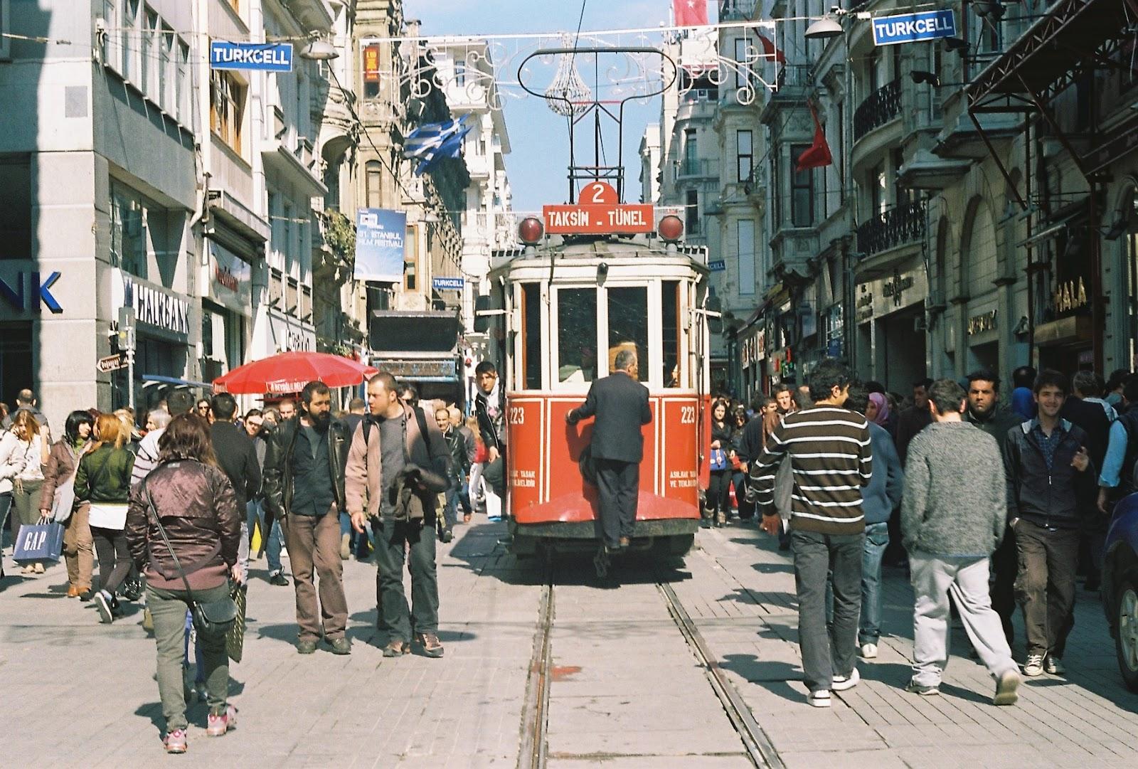 istiklal caddesi tramvay
